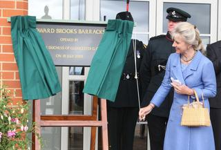 Duchess opens multi-million pound TA barracks