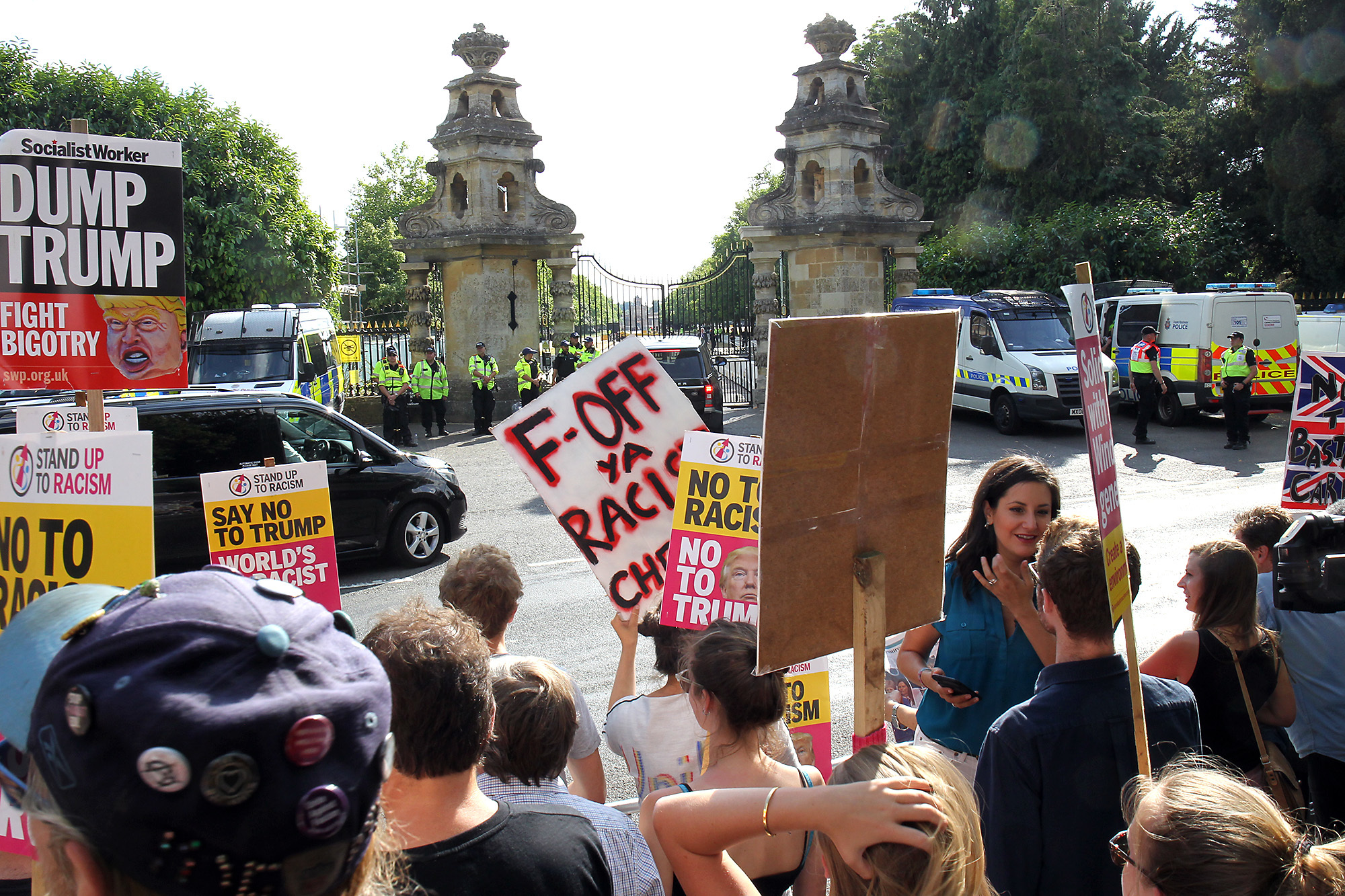 Oxford campaigners to plan anti-Trump protest