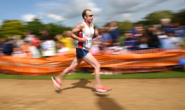 A runner at the Oxford Town & Gown run for Muscular Dystrophy UK last year. Picture: Richard Cave