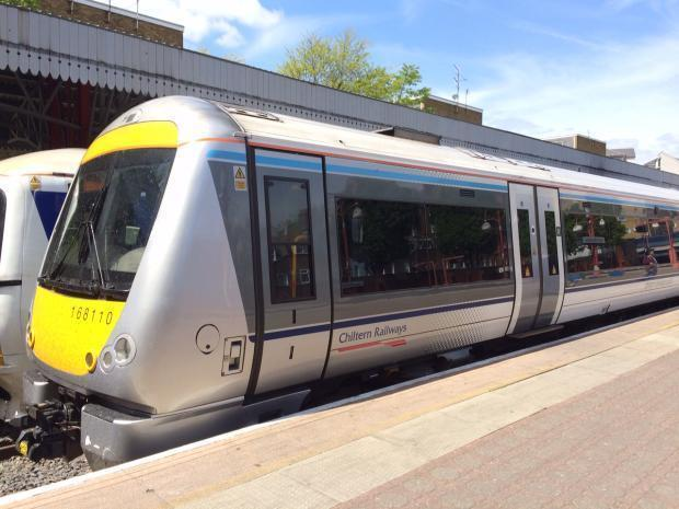 Chiltern Railways services will be heavily disrupted this weekend