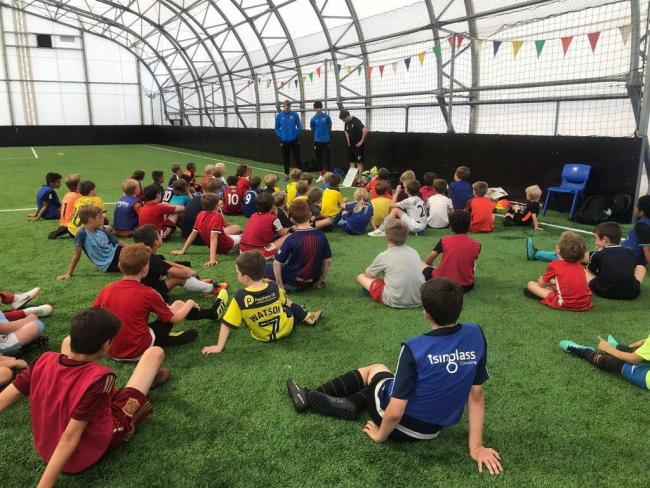 Oxford United in the Community is running 'Future Talent Hubs'