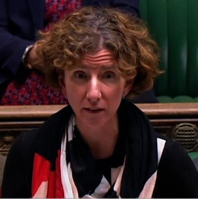 Aneliese Dodds, Labour MP for Oxford East