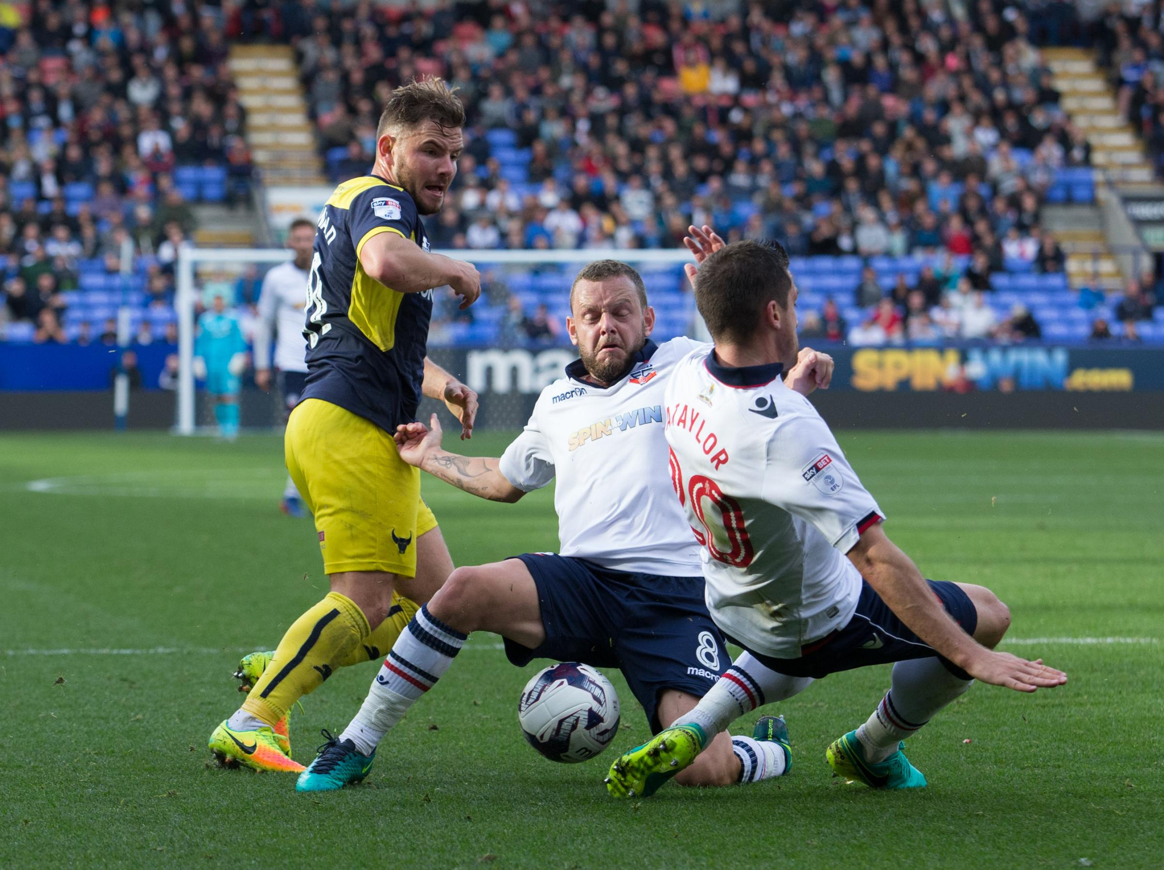 Oxford United last met Bolton Wanderers two seasons ago  Picture: James Williamson