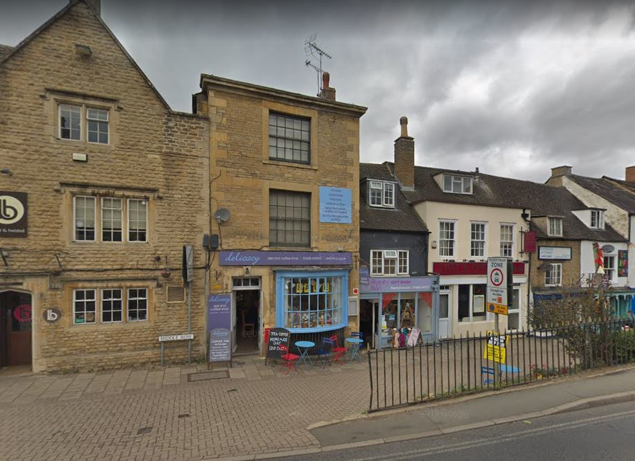 Delicacy Deli in Chipping Norton, pictured when it was still open Picture: Google Maps