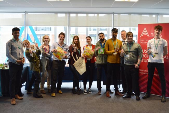 Activate Learning business students launch community larder in partnership with SOFEA