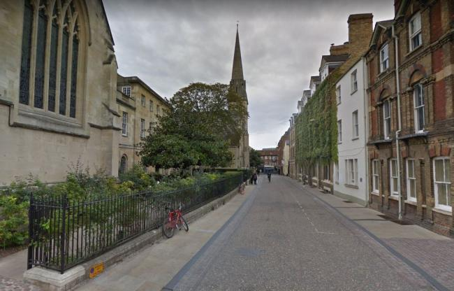 New Hall Inn Street, Oxford. Picture via Google Maps