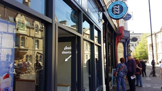 Triple Two Coffee Shop Gives Broad Street A Boost Oxford Mail