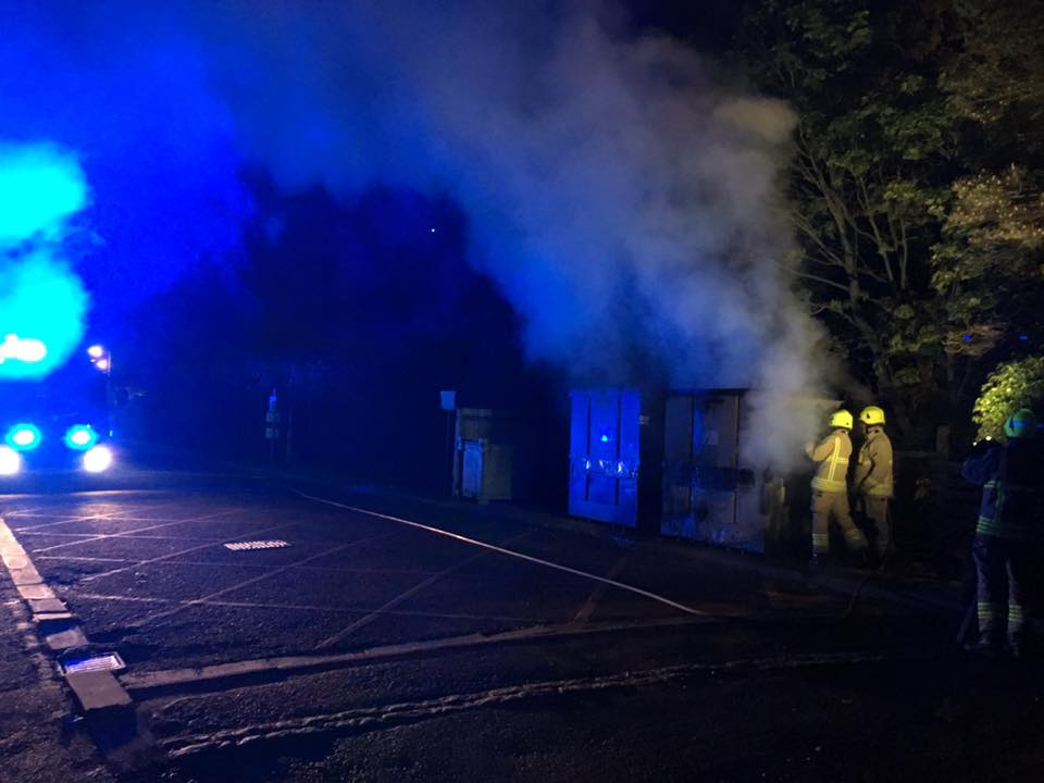 Fire at Telford Road industrial estate, Bicester