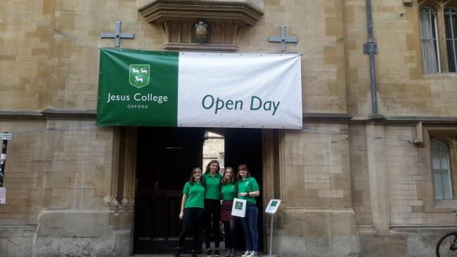 An open day at Jesus College Picture Jesus College