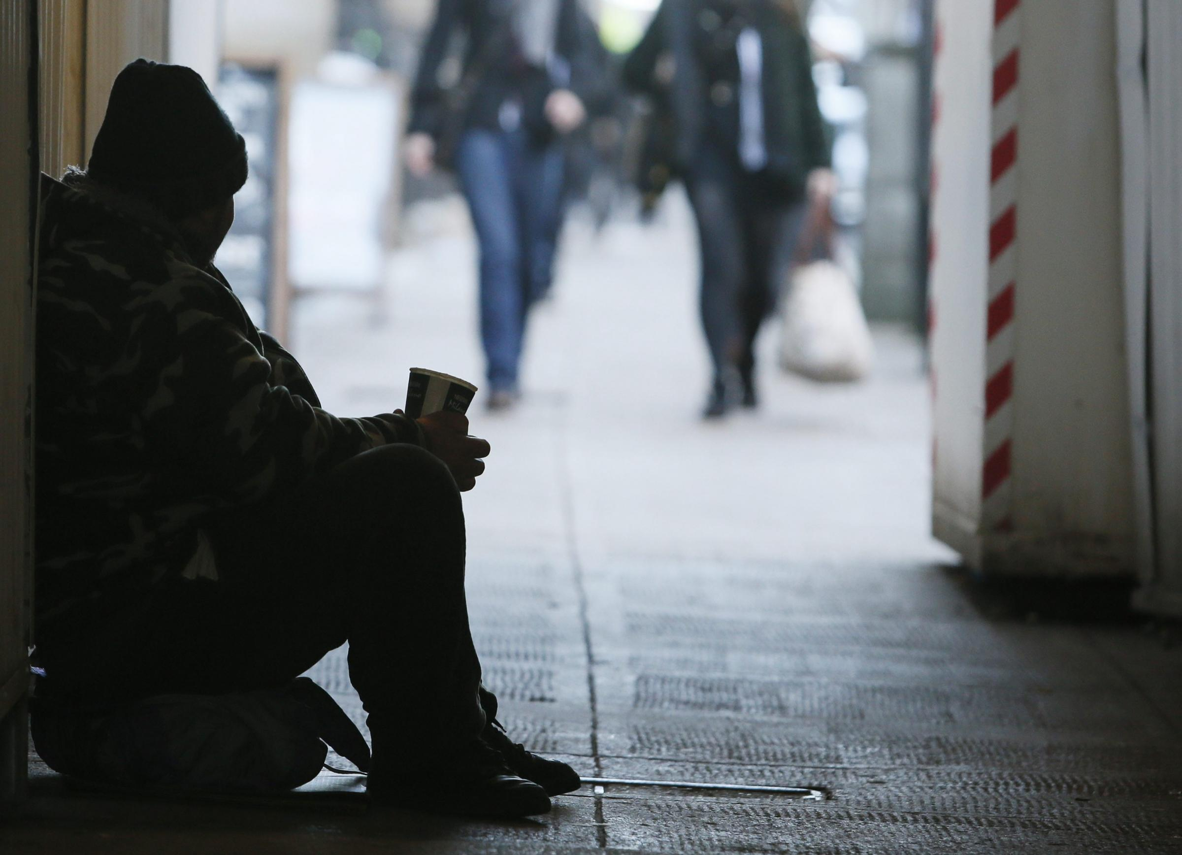 Beggars seen in Wantage, Wallingford and Thame