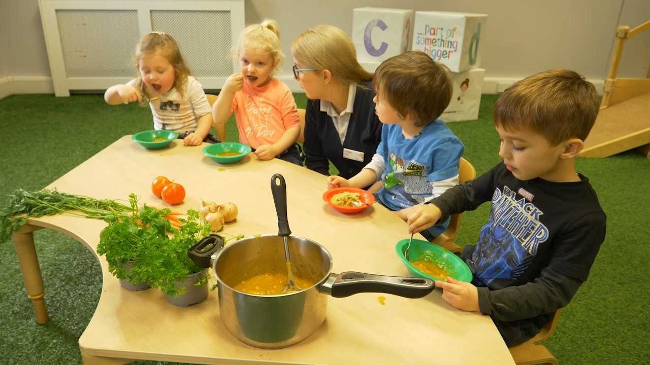 Co-op Childcare nurseries launch healthy eating project