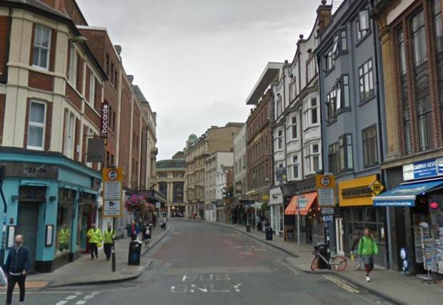 Oxford Mail: George Street, Oxford. Picture via Google Maps