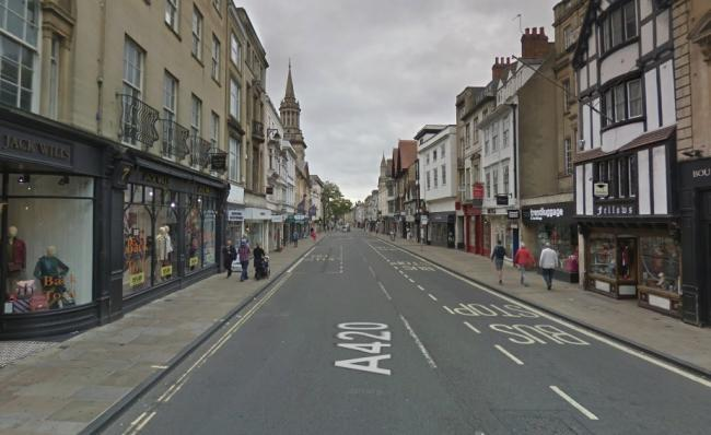 Oxford High Street. Picture: Google Maps