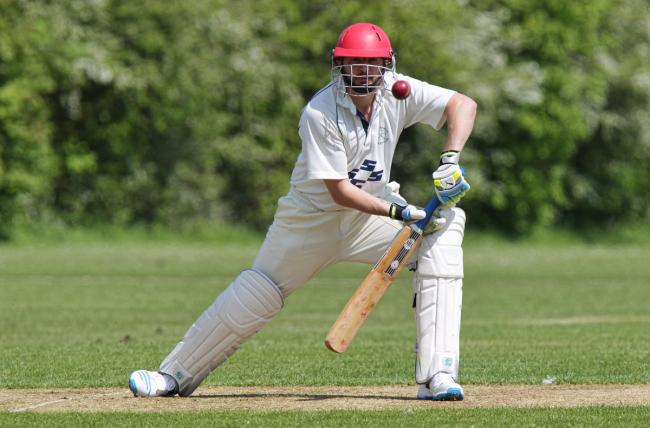 Stonesfield's Jamie Burns top-scored with an unbeaten 70 in his side's win over Chipping NortonPicture: Andy Fitzpatrick