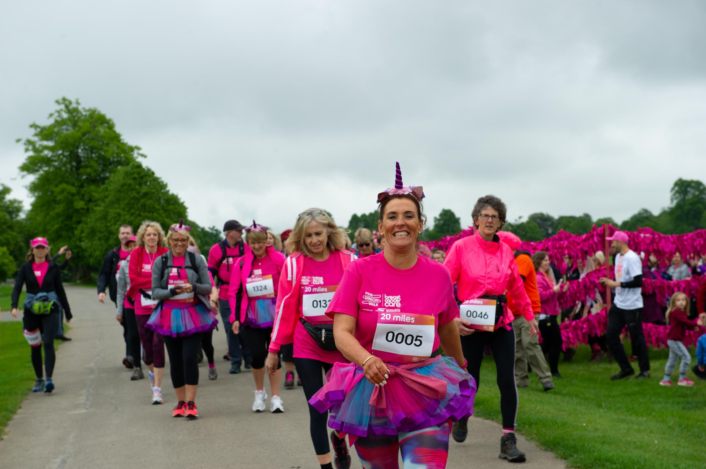 Blenheim Palace hosts Breast Cancer Care Pink Ribbon Walk