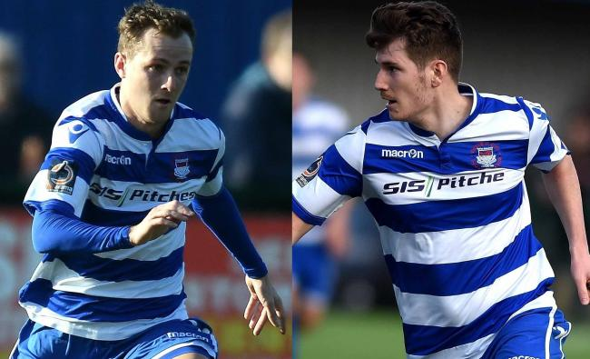 Jack Self (left) and Josh Ashby have re-signed for Oxford City for the 2019/20 season Pictures: Mike Allen