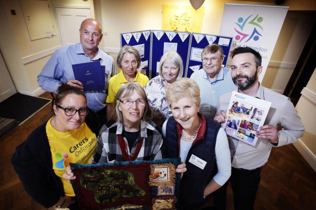 Dementia Friendly Abingdon are holding events for Dementia Action Week, including an information session in the Roysse Room at the Abingdon Guildhall Picture: Ed Nix