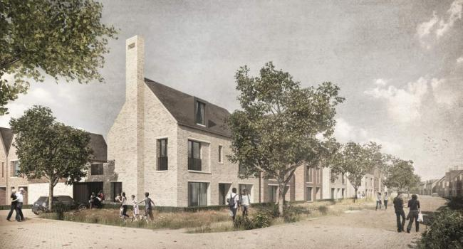 How some of the homes at the Paper Mill site will look