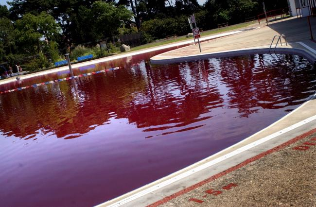 Hinksey Outdoor Pool closed after vandals dye water purple in 2007