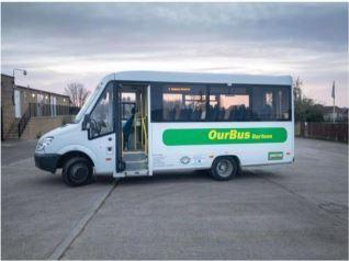 OurBus Bartons have a new bus, which it has named 'Bella' Picture: OurBus Bartons