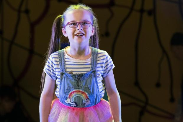 Ambition: Evie Gibson as Olive in Little Miss Sunshine