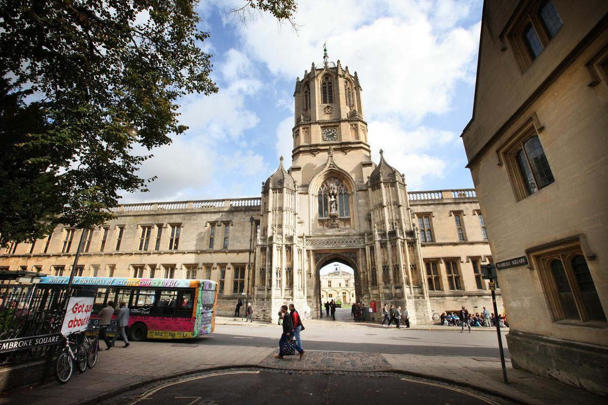 Pilgrims will gather at Christ Church Cathedral in Oxford