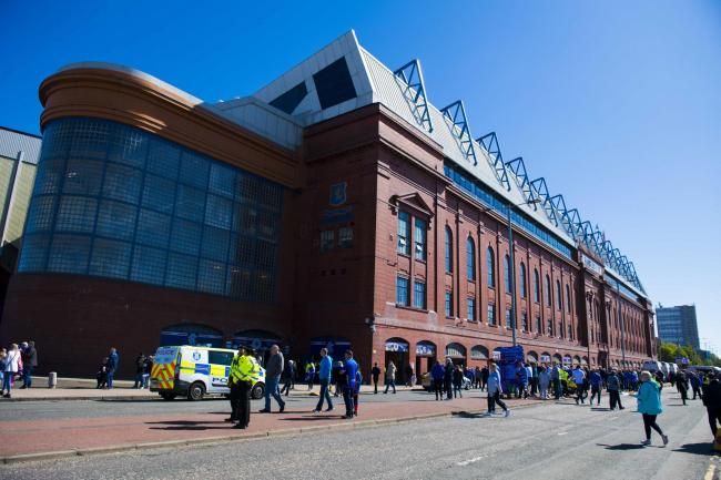 Oxford United will visit Ibrox on Sunday, July 7   Picture: The Herald