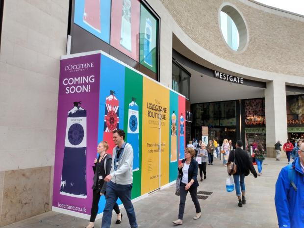 L'Occitane, Fat Face and Moss Bros to open new stores in