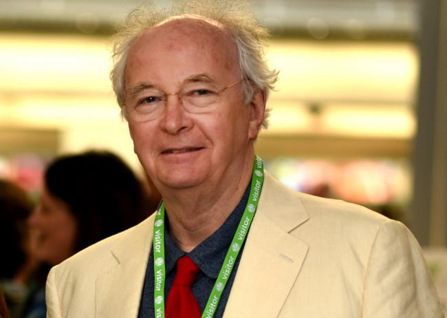 Philip Pullman at the opening of the new Oxfordshire County Library..... Picture: Richard Cave.