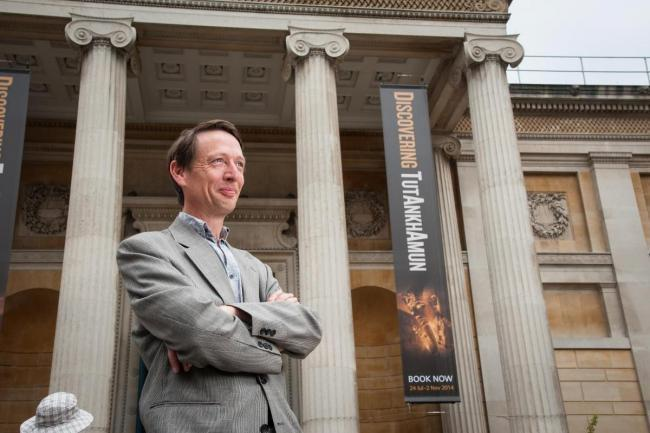 Dr Alexander Sturgis, director of the Ashmolean Museum Picture Oxford Mail