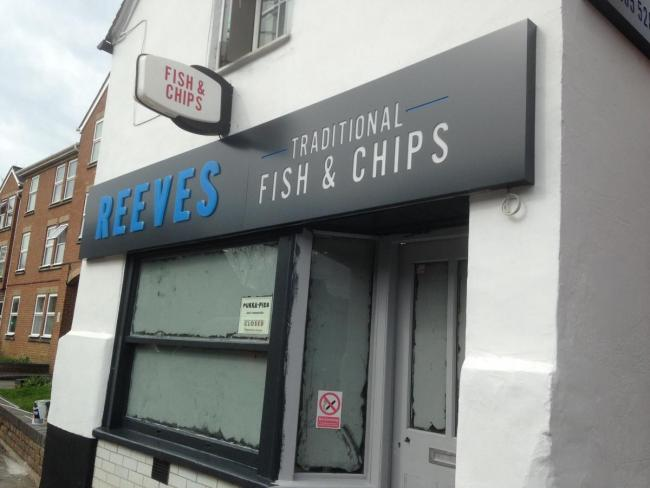 Reeves fish and chip shop in Oxford Picture: Andy Ffrench