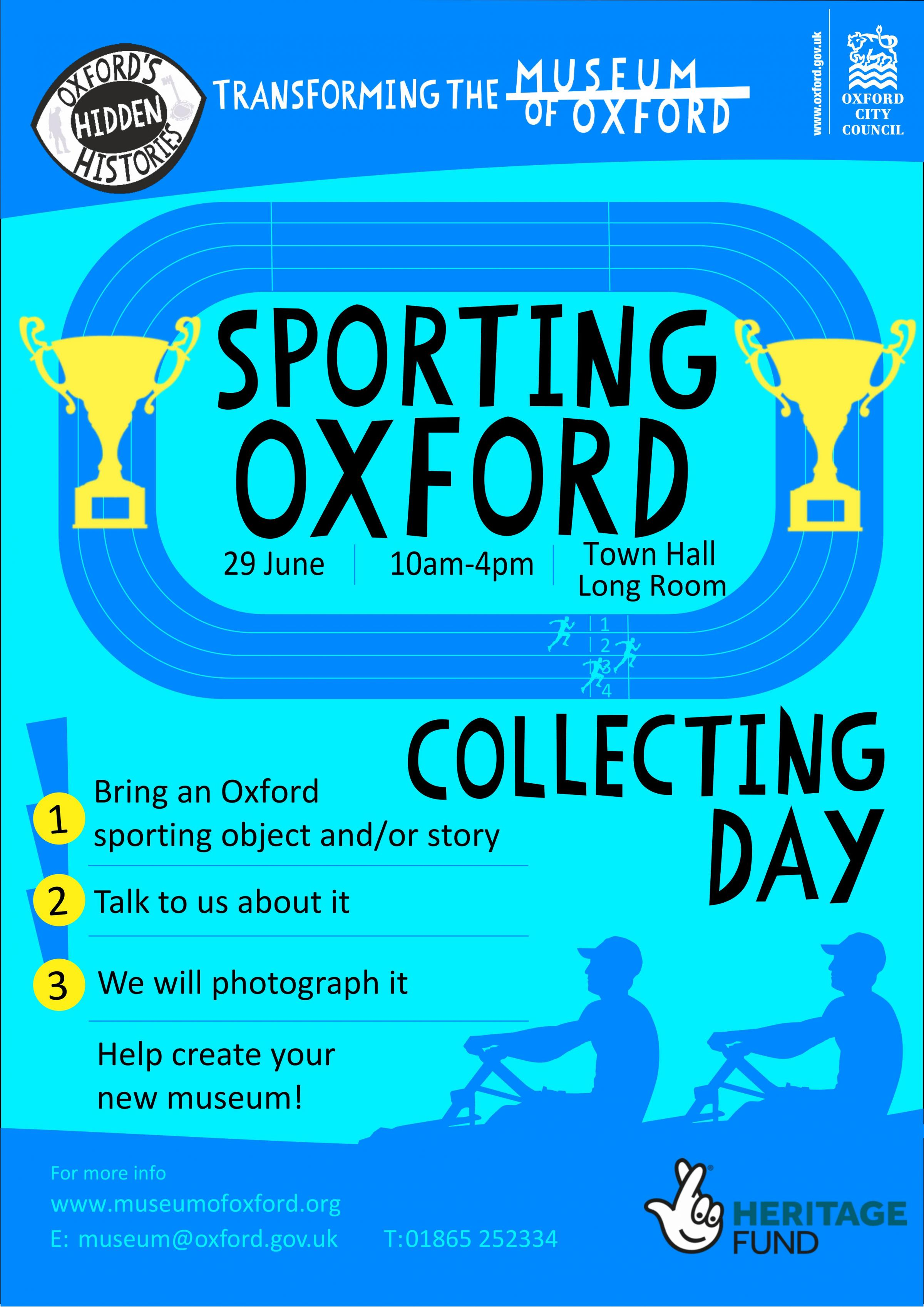 Sporting Oxford Community Collecting Day