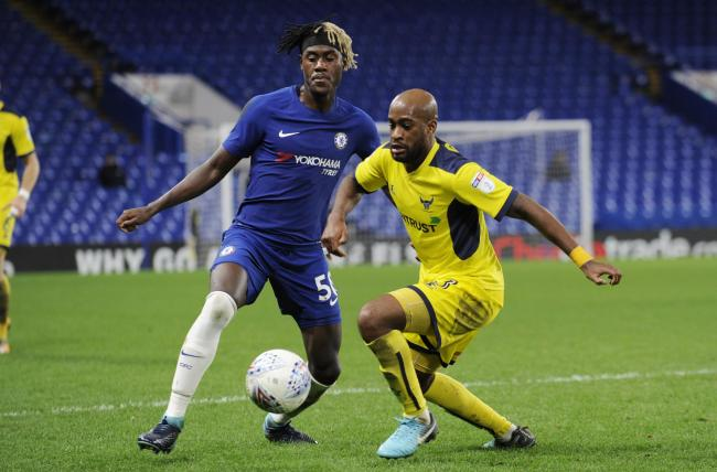 Oxford United played Chelsea in the EFL Trophy in 2018