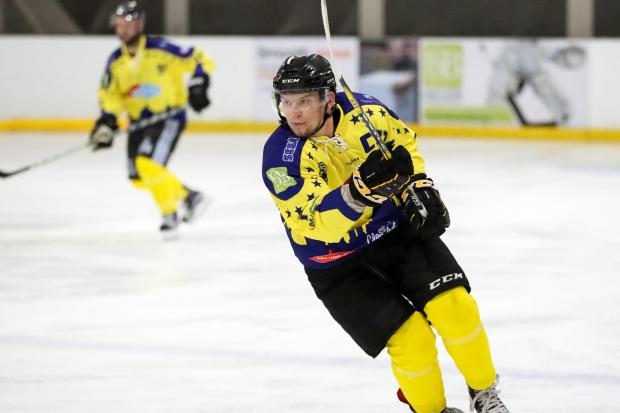Darren Elliott will take to the ice for one final time in his testimonial tomorrowPicture: Paul Foster