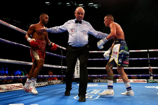 Josh Warrington retains his IBF world featherweight title