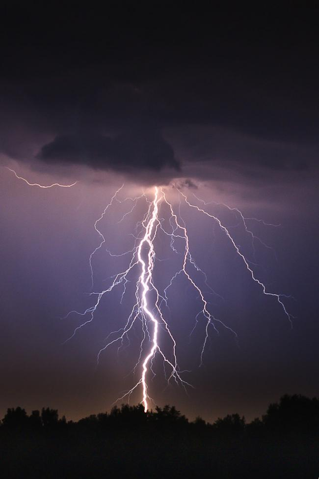 Stock photo of a lightning strike. Picture: Leszek Leszczynski